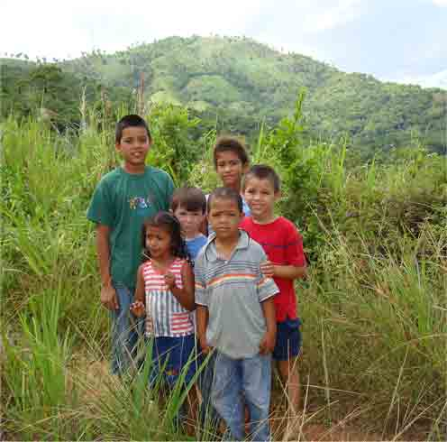 Honduran children